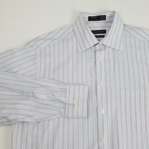 🎁Henry Jacobson men's shirt 15.5 34/35 stripe